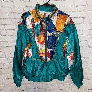 Vintage Active Exposure Track Jacket size medium